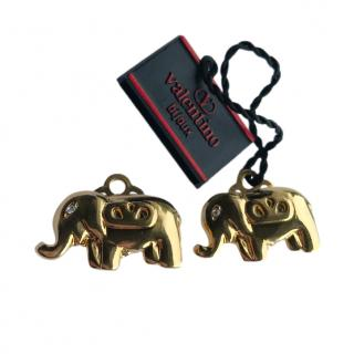 Valentino Vintage ''Elephant'' Earrings