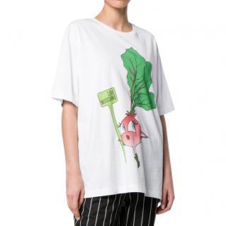 Love Moschino Turnip print T-shirt