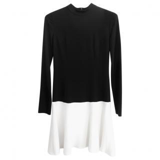 Raoul Crepe Black & White Dress