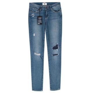 Paige Verdugo Ultra Skinny Esme Destroyed Jeans