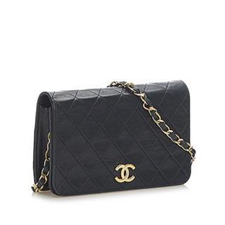 Chanel Black lambskin leather CC Timeless  Flap Bag