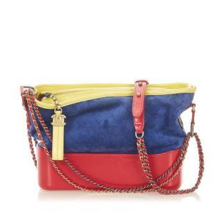 Chanel Multi coloured Medium Gabrielle Suede Shoulder Bag