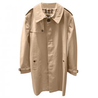 Burberry Beige Mens Classic Trench Coat