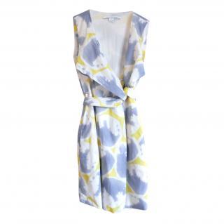 DVF Carol Printed Cotton Mini Dress