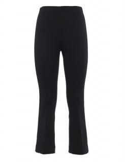 Moncler Side velvet bands techno cotton crop pants