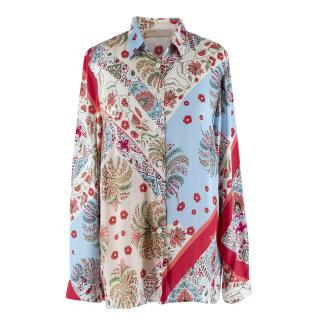 Dismero Floral Print Long Sleeve Shirt