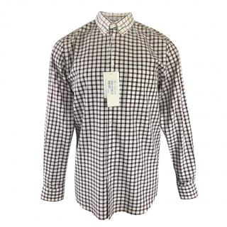 Stella McCartney Mens  Long Sleeve Check Shirt