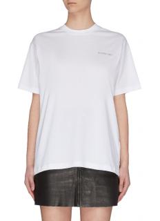 Burberry Oversize Crystal Logo T-Shirt