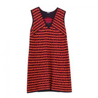 M Missoni Orange Striped Dress