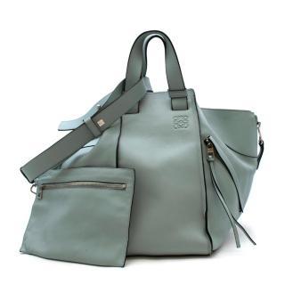 Loewe Blue Calfskin Hammock Bag