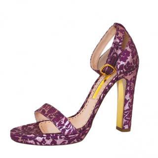 Rupert Sanderson Mulberry Precosia Sandals