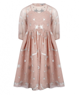Stella McCartney Kid's 14Y Shooting Star Print Dress