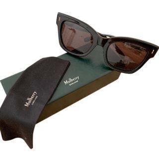 Mulberry Black Kate Cat-Eye Sunglasses