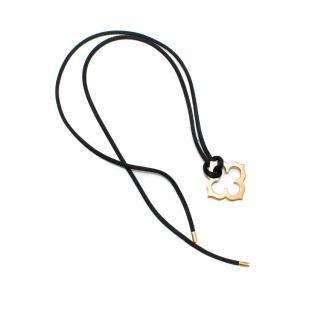 Cartier Quatrefoil Yellow Gold Necklace