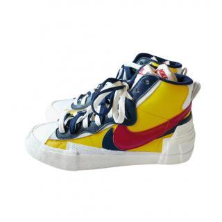 Nike x Sacai Varsity Maize Blazer Mid Trainers