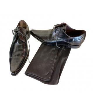 Dolce & Gabbana Anguilla Black Loafers