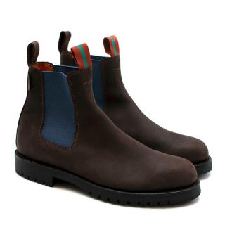 Penelope Chilvers Brown Leather Chelsea Boots