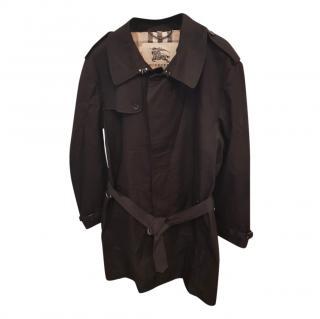 Burberry Black Men's Classic Trench Coat
