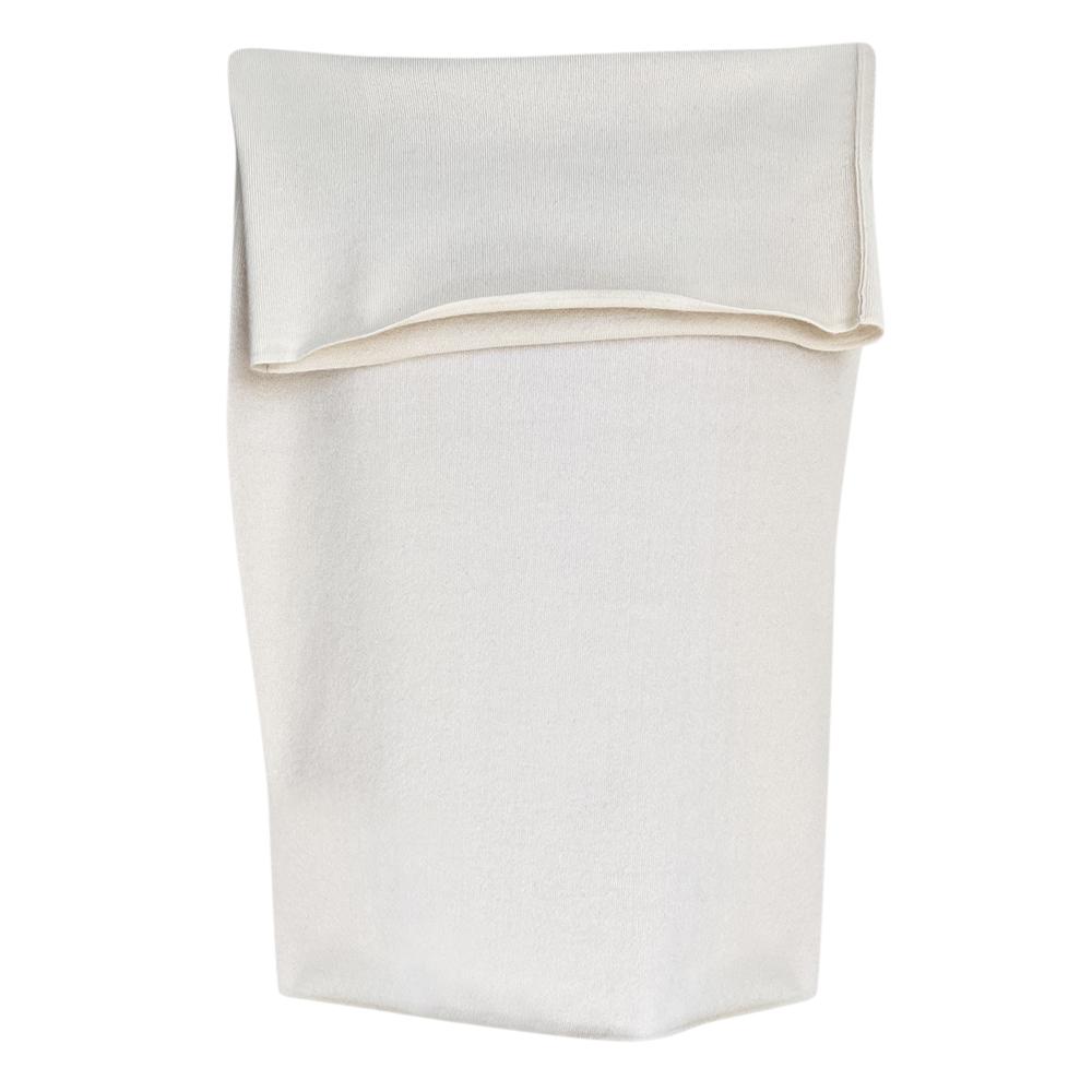 Donna Karan White Cashmere Skirt