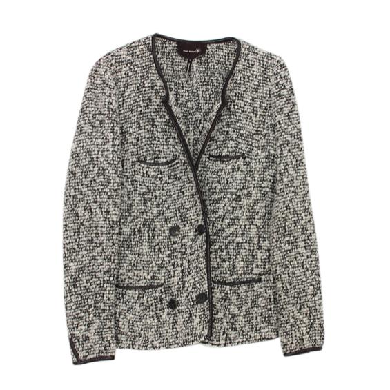 Isabel Marant Black & White Boucle Jacket