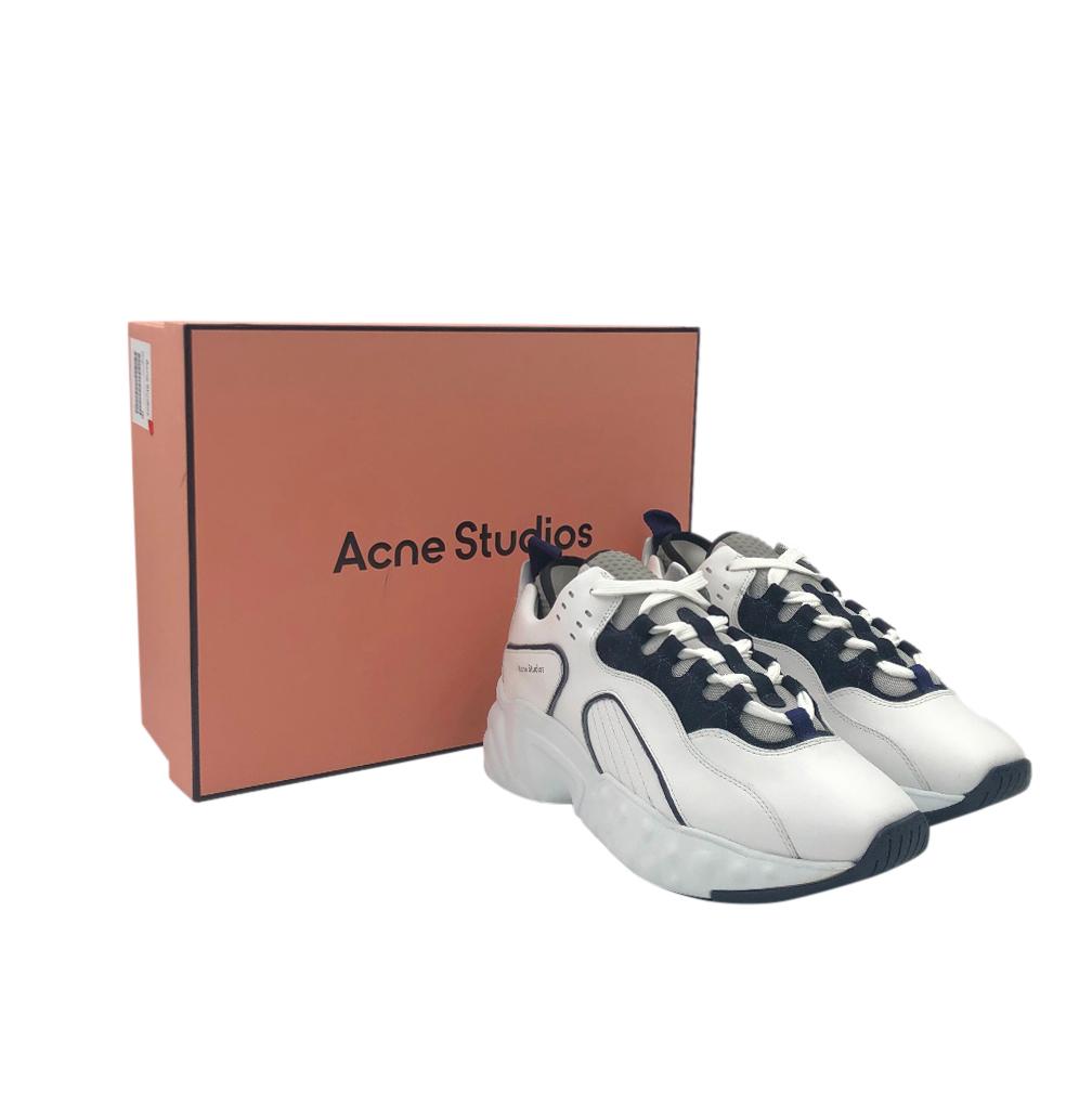 Acne Studios Black & White Rockaway Sneakers