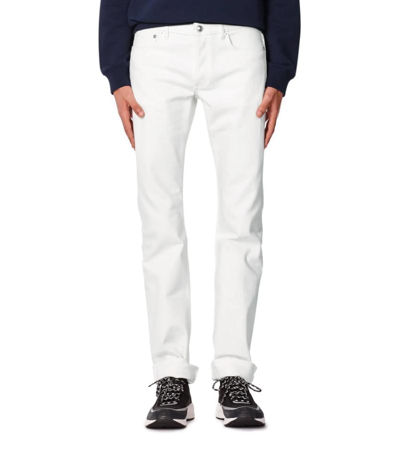 A.P.C. Petit New Standard White Jeans