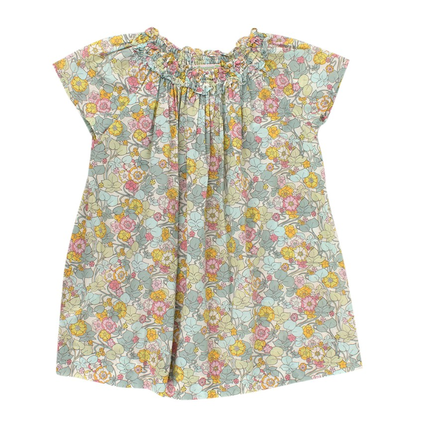 Bonpoint Floral Print Kids 4Y Tunic Dress