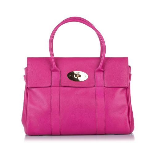 Mulberry Pink Bayswater Leather Handbag