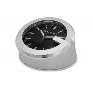 Gucci G-Clock Black Dial Desk/Travel Clock