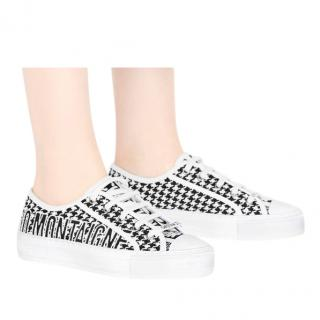 Dior Houndstooth Walk'N'Dior Sneakers trainers