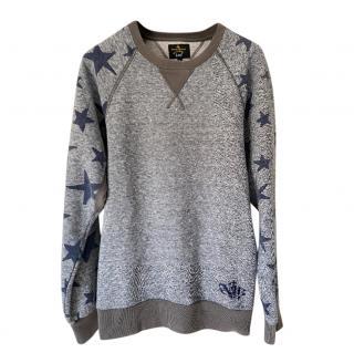 Vivienne Westwood Blue Raglan Sweatshirt