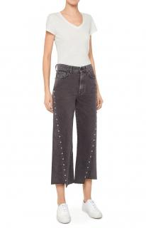 7 For All Mankind Black Marnie Outsider Jeans