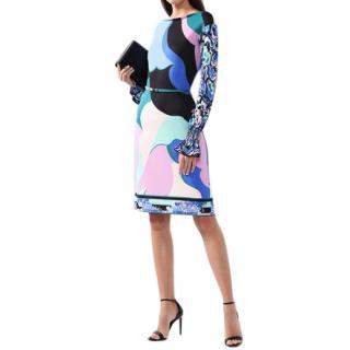 Emilio Pucci Multicoloured Printed Shift Dress