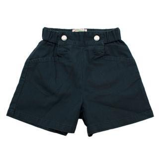 Bonpoint Navy Cotton Kid's 3Y Shorts