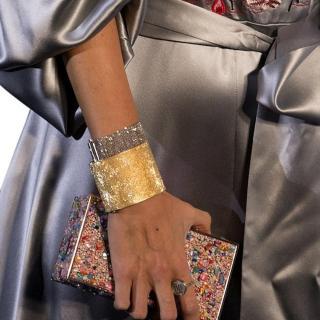 Carolina Bucci white gold soft mesh bracelet