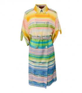 Missoni Striped Multicolour Trench Coat