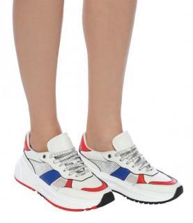 Bottega Veneta White Speedster Chunky Sneakers
