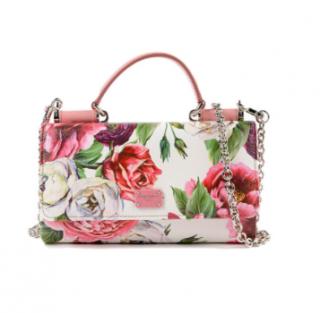 Dolce & Gabbana Floral Mini Sicily Von Bag