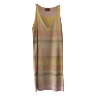 Missoni Metallic Knit Mini Dress