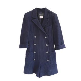 Famous Blue Tweed CC Playsuit