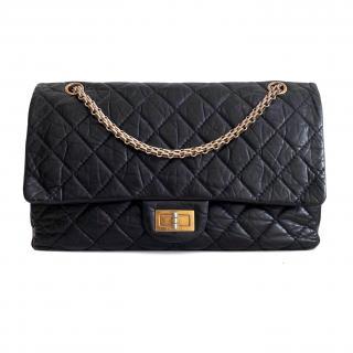 Chanel Black 2.55 Reissue 227 Bag