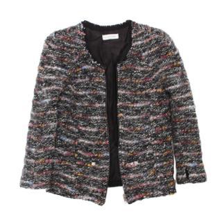 Isabel Marant Black Boucle Blazer