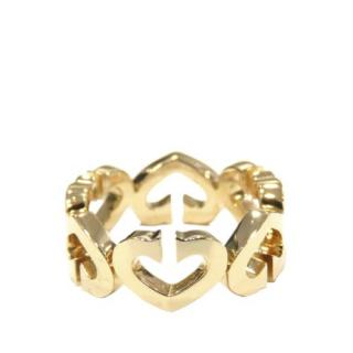 Cartier Coeur et Symbole ring in yellow gold