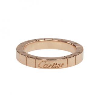 Cartier 18k Pink Gold Lanieres Ring