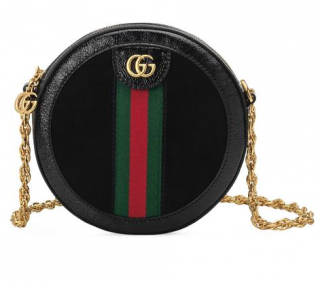 Gucci Ophidia Mini Round Shoulder Bag