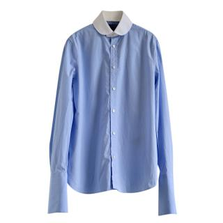 Ralph Lauren Collection blue cotton shirt
