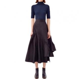 3.1 Phillip Lim Silk Asymmetric Midi Skirt