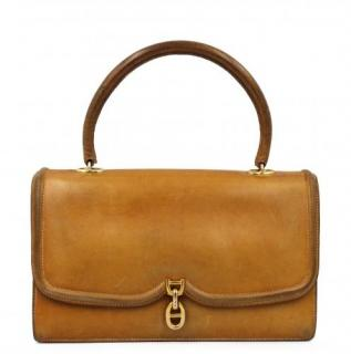 Hermes Vintage Leather Chaine D'Ancre Bag