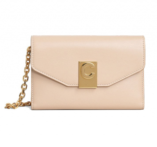 Celine Nude Shiny Smooth Calfskin C IPhone X and XS Clutch