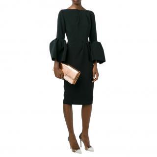 Roksanda Black Bell Sleeve Margot Dress